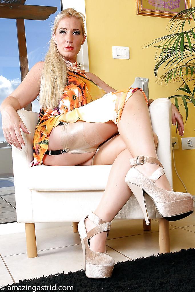 British Blonde Milf Homemade