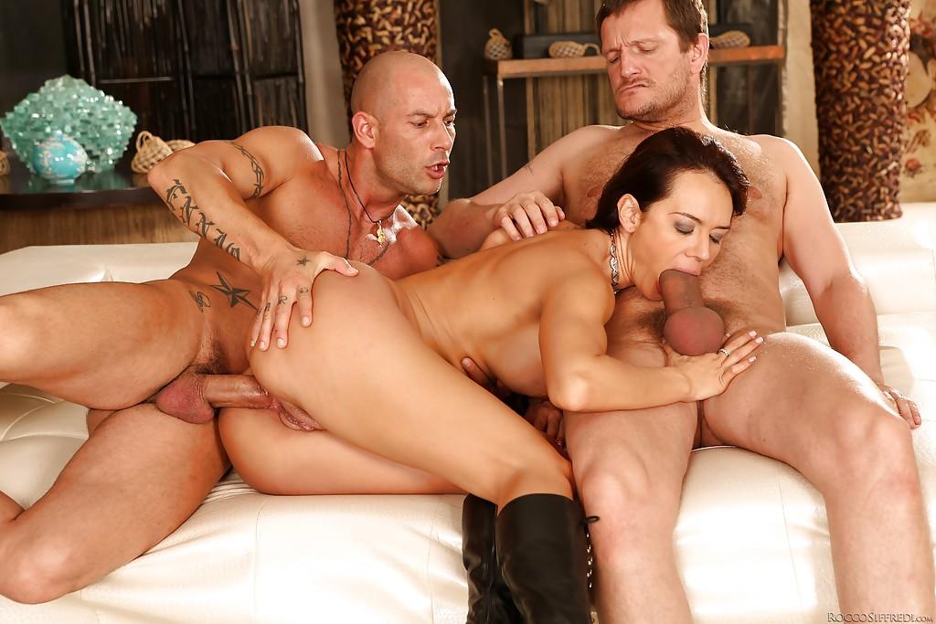 Ashley Adams Anal Threesome