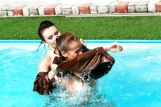 kinky pool party