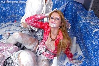 messy wrestling