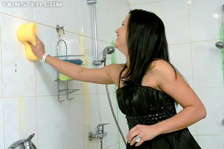 european shower clothes