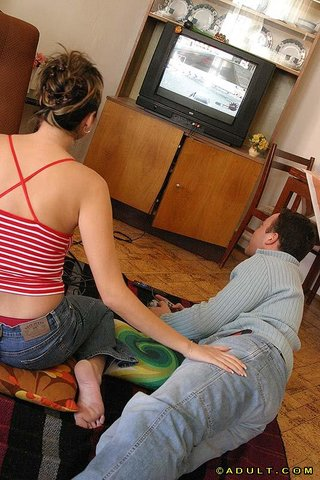 Two Guys One Girl Bondage