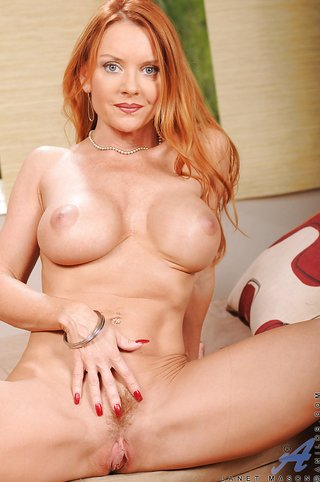 american mature busty redhead