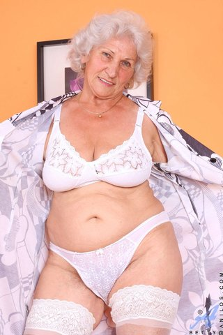 stripping fat granny