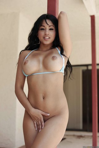 american stripping fit babe