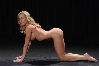 ebony blonde yoga