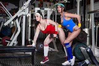 big ass lesbian sports