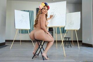 alluring booty latina