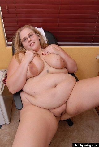 hardcore fat blonde