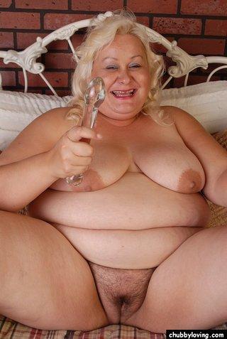 fatty blonde bbw