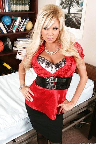 russian big boobs doctor