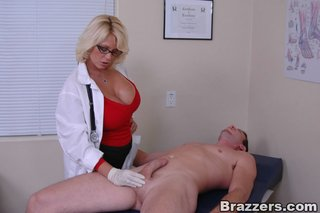 american sexy doctor handjob