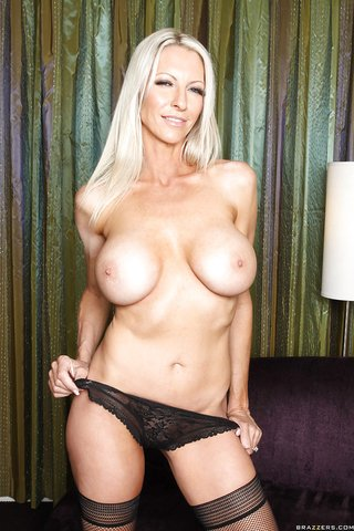 american uniform blonde milf