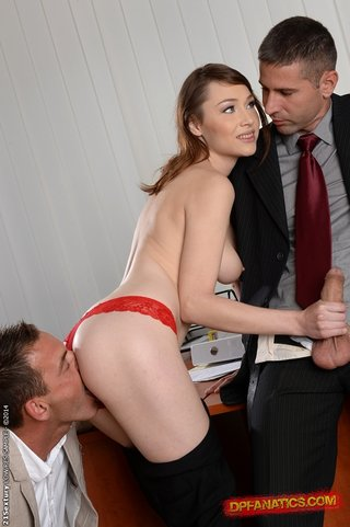 big tits hardcore threesome