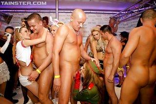 uniform stripper fuck party