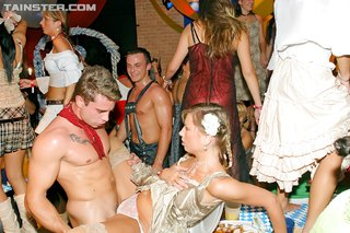 horny drunk party orgy