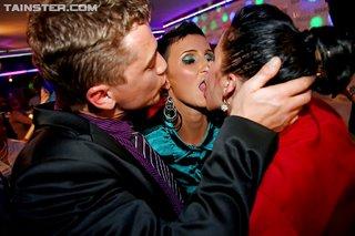 european crazy kissing