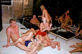 slutty shower orgy