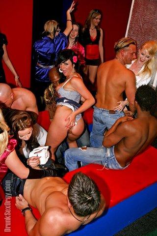interracial hot orgy