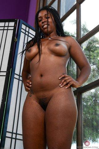 american fat hairy ebony