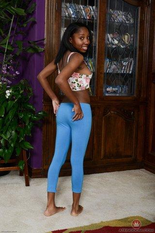 american beautiful skinny ebony