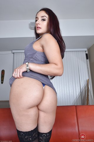 latina mature thong