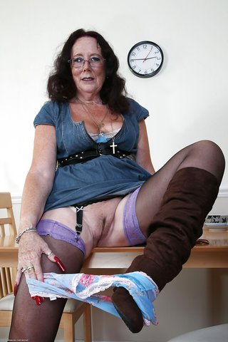 beautiful mature granny