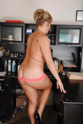 uniform milf secretary