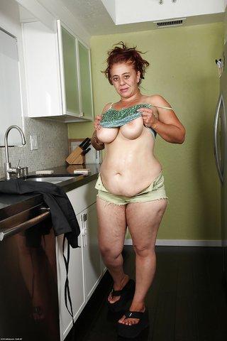 fatty wet panty masturbation