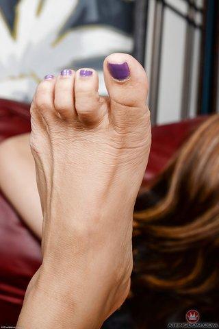 barefoot asian american
