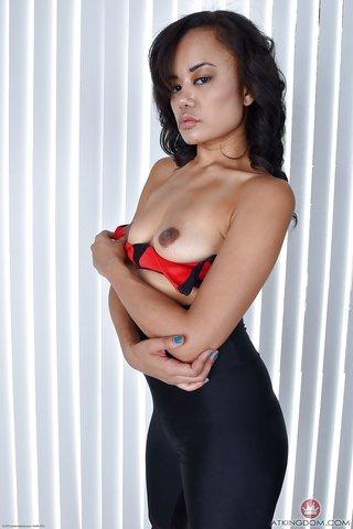 american asian naked yoga
