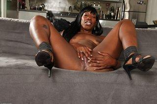 brunette mature ebony