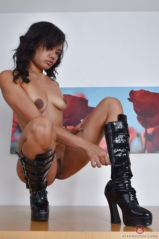 american asian mature boots