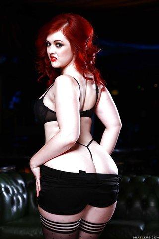 british curvy redhead