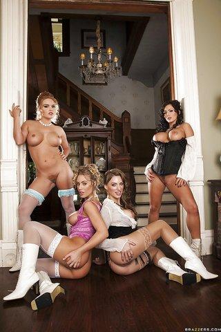 hot lingerie babes