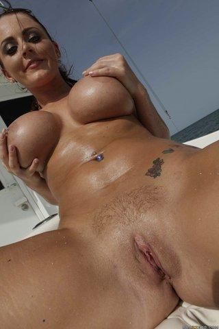 british big boobs beach