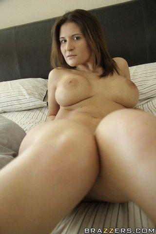 hot big tits model