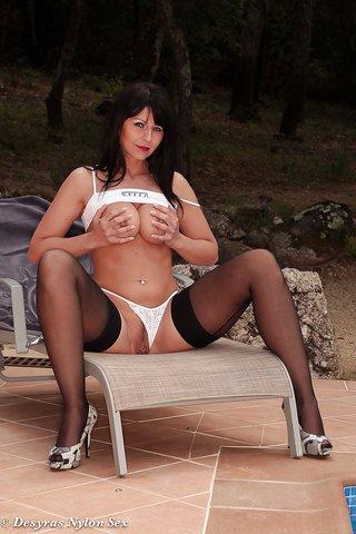 big tits german pantyhose