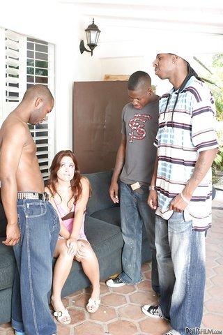 interracial slender teen