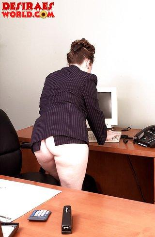 office plump desk