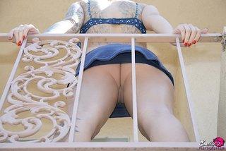 american beautiful upskirt panties