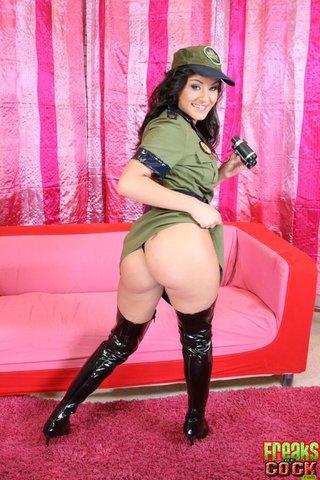 sexy uniform babe