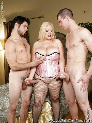 fatty big tit threesome