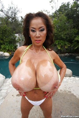 busty asian mom