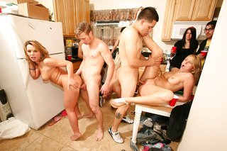 latina orgy fuck party