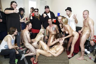 facial college gangbang