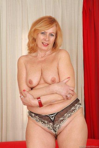 sissy mature stocking