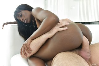 beautiful ebony anal