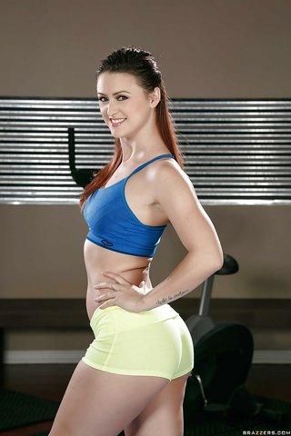 petite lesbian workout