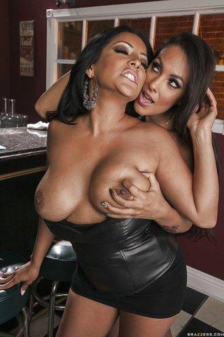 latina lesbian spanking